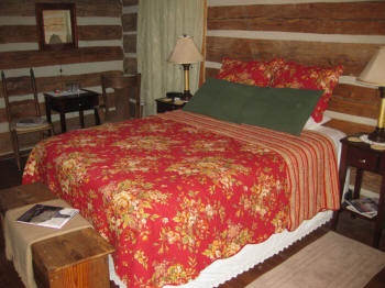 Dogtrot East Cabin Bedroom